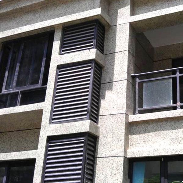 铝合金外墙百叶窗