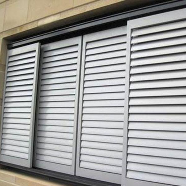 山东铝合金手动百叶窗