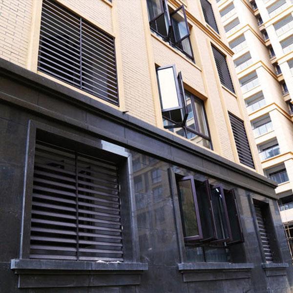 怀化锌钢外墙百叶窗